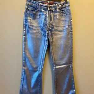 ✨NEW✨PARASUCO MID RISE silver coated JEANS VINTAGE